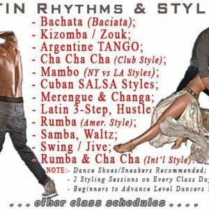 ABDA Dance Classes - Ballroom & Latin Dance Styles